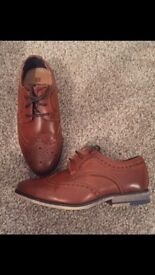 River Island boys brogues size 11