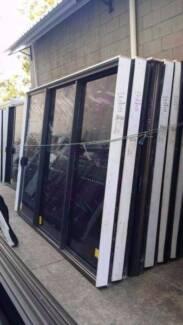 Sliding Door - 2400h x 2900w Monument Stacker Door w/ Light Tint