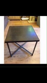 Small heavy square table (2 for sale)