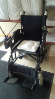 Adult Electric folding wheelchair-New in case