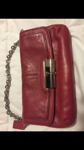 RED COACH CLUTCH FOR SALE London Ontario image 1