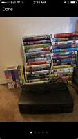 Working VHS and tons of movies GREAT DEAL