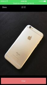 I phone 6s plus 16gb on 3 silver