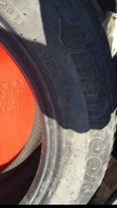 195/60 R15, 2 HANKOOK winter tires