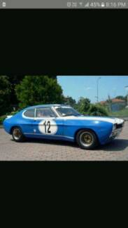 FORD CAPRI 1971 COLOGNE RACE BODYKIT RARE  AND IN AUSTRALIA Toowoomba Toowoomba City Preview