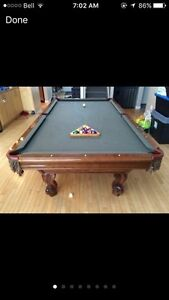 Brunswick pool table 4x8 Edmonton Edmonton Area image 1