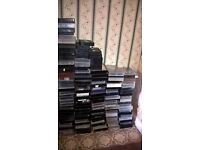 Over 100 Horror/thrillers VHS tapes