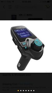 T11 FM transmitter Bluetooth