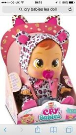Cry babies doll brand new in box SOLD OUT IN STORES 1 LEFT