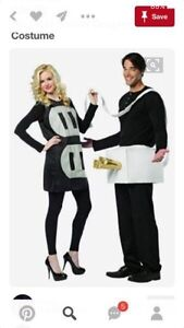Couples Cord and Plug costumes
