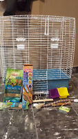 NEW bird cage and accessories
