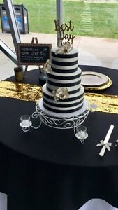 """14"""" Cake Stand With Flameless Tealights For Sale  Kawartha Lakes Peterborough Area image 1"""