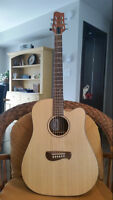 Tacoma DM9C Acoustic/Electric guitar in great shape!