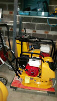 PLATE COMPACTOR JUMPING JACK POWER TROWEL HONDA 1 YEAR WARRANTY