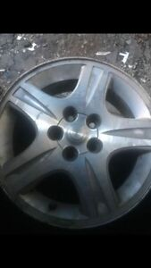 "16"" aluminum rim set Cambridge Kitchener Area image 1"