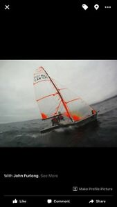 29er sail boat for sail