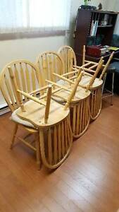 REDUCED 6 Pine Chairs in Excellent Condition