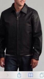 Sahara Mens jacket genuine thick leather