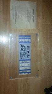 Unused Elvis Concert Ticket. September 20, 1977 Kawartha Lakes Peterborough Area image 1