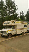 21 foot motorhome for sale / will deliver free (locally)