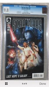 8 book set.  Based on the Rough Draft of Star Wars! all 9.8 CGC Cornwall Ontario image 8
