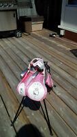 Beginner Girl's Hello Kitty Golf Set