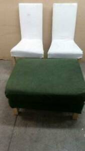 free delivery Ikea 2 chairs and Ottoman