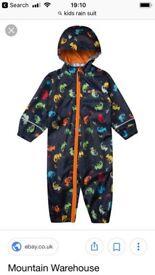 Mountain warehouse rain suit