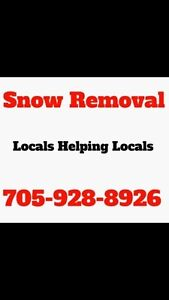 Bobcaygeon In town SnowRemoval $20