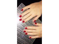 IBD gels/ shellac nails