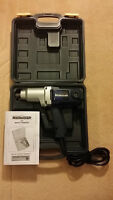 Impact Wrench - 7.5AMP, 1/2 INCH +assorted drivers - Barely used
