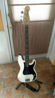 2010 Olympic White Fender American Special Precision Bass