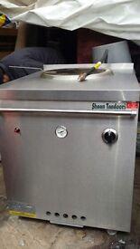 Shaan tandoori naan oven display fridge