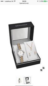 Sekonda watch , earring and necklace gift set!