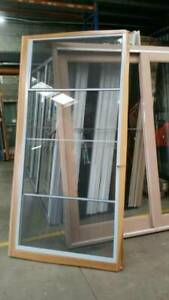 Double Hung Frameless Sashes - 2100h x 985w Ultra Silver 10493