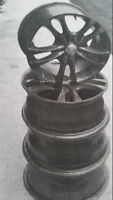 """PRICE $300 or Best offer for (4) 16 """" MULTI FIT ALLOY WHEELS"""
