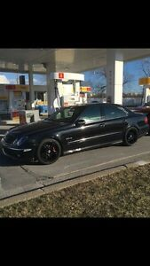 URGENT E-Class with complete amg E63 kit & upgrades