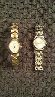 Wittnauer and geneva ladies watches in EXCELLENT condition