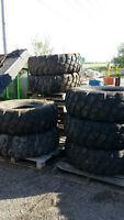 "Monster truck tire SALE. Used Military Michelin XZL for 20"" rims"