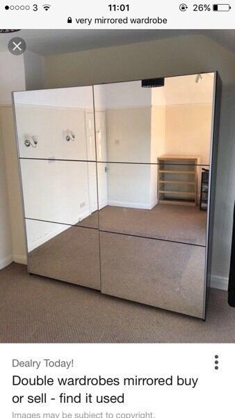 Very Mirrored Sliding Door Wardrobes
