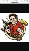 Handyman service $25 an hour
