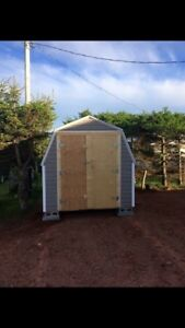 Custom sheds and barns