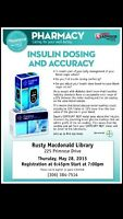 LIVING WITH DIABETES? - Join SAFEWAY PHARMACY for a FREE session
