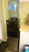 Water Cooler With Hot Water & Fridge