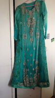 EID PAKISTANI DESI PARTY DRESS - BEAUTIFUL 3 PIECE