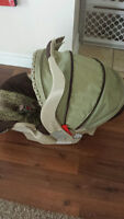 car seat with the base - very good condition