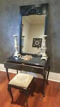 Stunning french provincial style dressing table with stool Crafers Adelaide Hills Preview