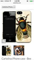 Cartolina iPhone case for 5 or 5s