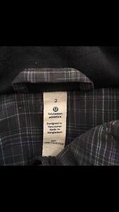 Lululemon Track Jacket - Size 2 Kitchener / Waterloo Kitchener Area image 2