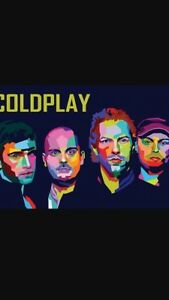 Coldplay 2 tickets great seats